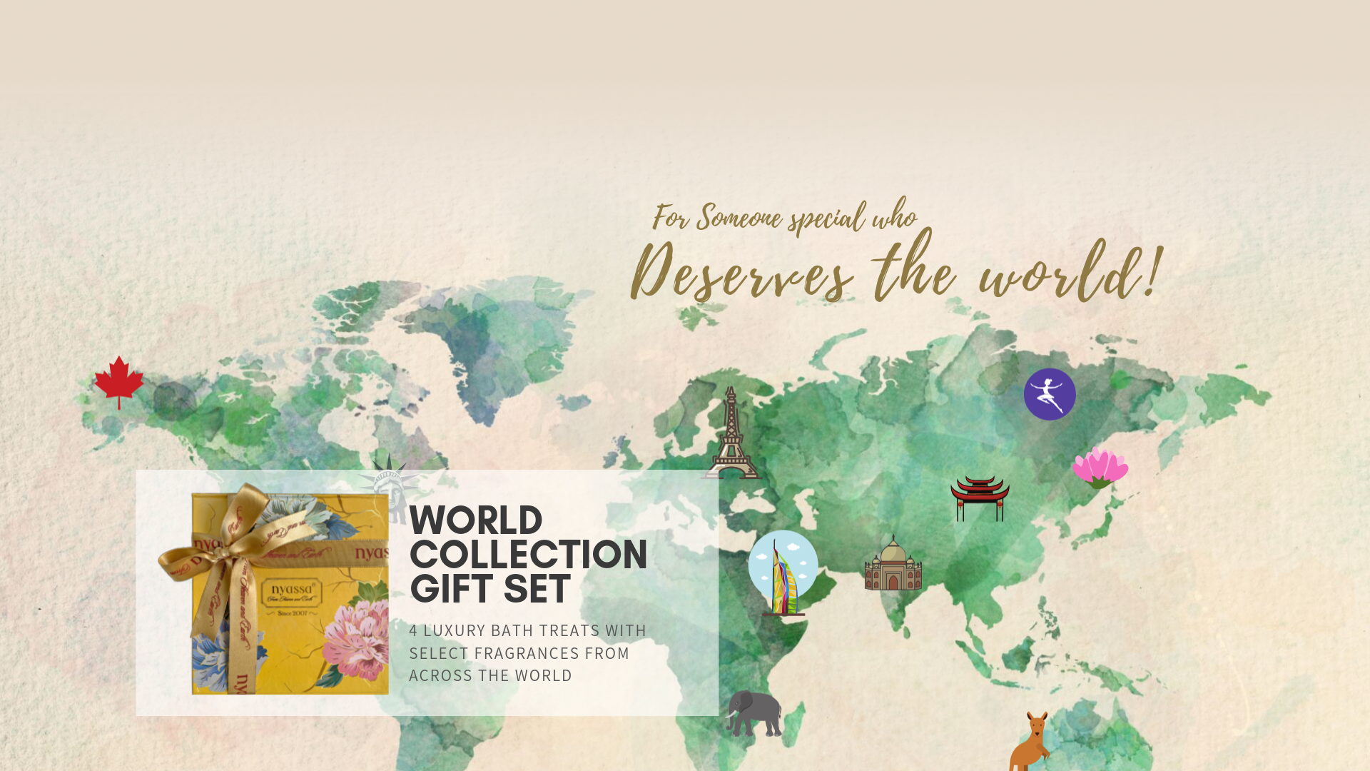 World Collection Gift Set